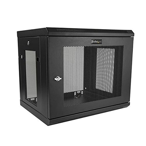 "Startech Rk9walm 9U 17"" Deep Wall Mount Server Rack Cabinet"