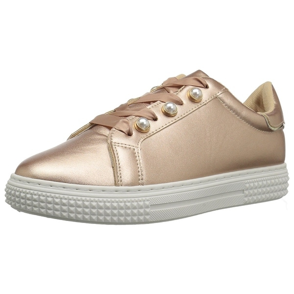 Qupid Women's Waver-02A Sneaker