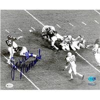 Joe Namath Autographed 8 x 10 Photo U Of Alabama Steiner Hologram