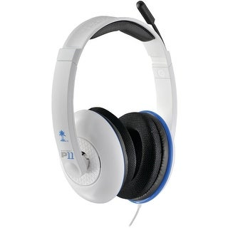 Turtle Beach Ear Force P11 White Gaming Headset - PlayStation 3