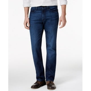 Kenneth Cole Reaction NEW Blue Mens 32X32 Classic Straight Leg Jeans