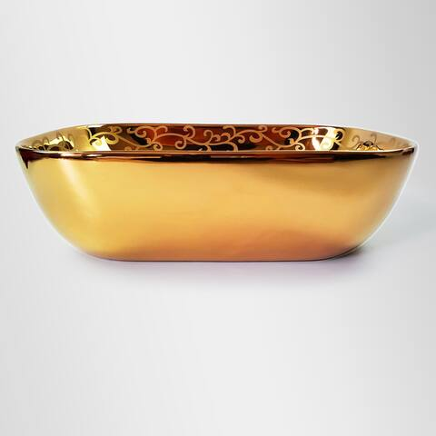 Princesa Rosa Golden Vessel Sink