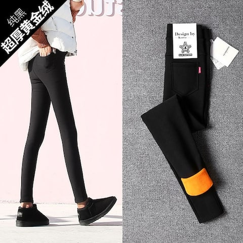 Winter Slim Warm Pants Thickened Plus Velvet Pants