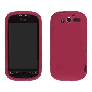 Wireless Solutions Smooth Silicone Gel for HTC myTouch 4G (Red)