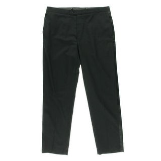 Calvin Klein Mens Wool Slim Fit Tuxedo Pant - 30/30