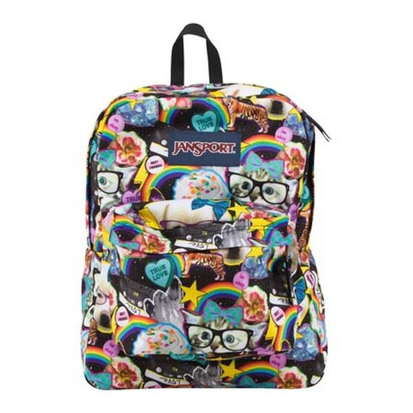Shop JanSport Superbreak Backpack Multi Hairball - US One Size (Size None)  - Free Shipping On Orders Over  45 - Overstock - 22205526 713954a903295