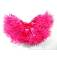 Hot Pink Sparkle Fluffy Tutu Skirt Girls S-XL