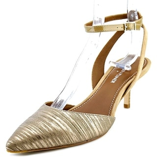 Donald J Pliner Franca Women Pointed Toe Leather Slingback Heel
