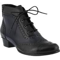 Spring Step Women's Heroic Boot Black Multi Leather