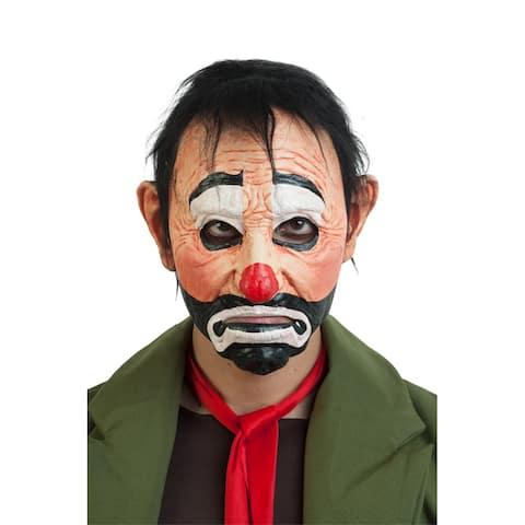 Adult Scary Trap the Clown Halloween Mask - Standard - One Size