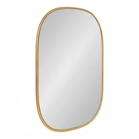 Kate and Laurel Caskill Capsule Framed Wall Mirror