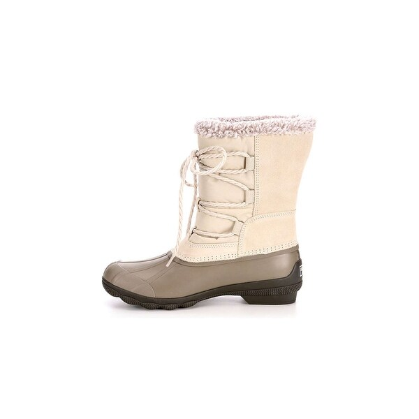 Sperry Womens syren strat Closed Toe Ankle Cold Weather Boots - 10