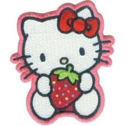 "Strawberry Sweet 2.5""X3"" - Hello Kitty Patch"