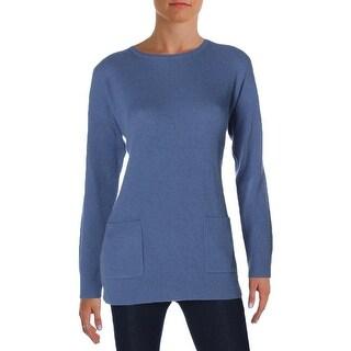 Lauren Ralph Lauren Womens Pullover Sweater Cashmere Ribbed