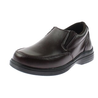 Hush Puppies Boys Shane Loafers Leather Dress - 9 medium (d)
