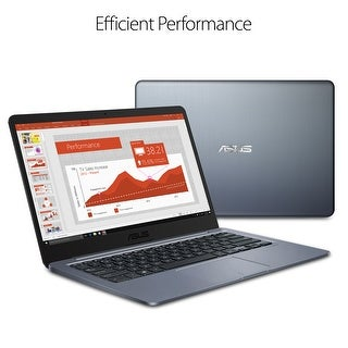 "Manufacturer Refurbished - Asus R420SA-RS01-BL 14"" Laptop Intel Celeron N3060 1.6GHz 4GB 32GB eMMC W10"