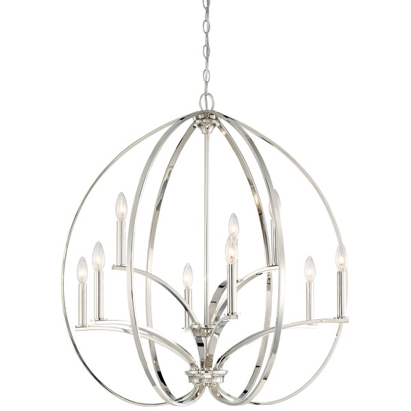 Shop Minka Lavery 4989 613 9 Light Two Tier Chandelier From The