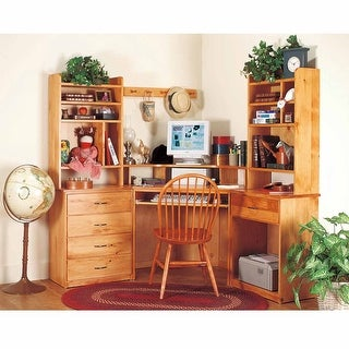 Office Desk Unfinished Solid Pine Printer Stand 1 Drawer | Renovator's Supply