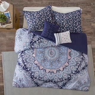 Link to Skye Blue Boho Duvet Cover Set by Intelligent Design Similar Items in Duvet Covers & Sets