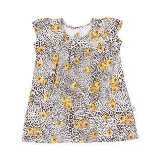 Baby Girl Dress Cheetah Print Infants Pulla Bulla Sizes 3-12 Months (3 options available)