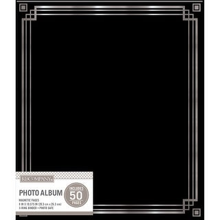 "K&Company Magnetic Binder Photo Album 9.75""X11.25""-Black"