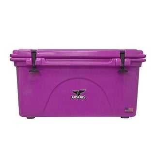 ORCA 75 Quart Pink Cooler with Handles