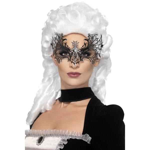 MASQUERADE GENT/'S LARGE BLACK EYE MASK Mens Fancy Dress Costume Accessory
