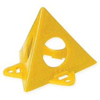 Painter's Pyramid Stands 10/Pkg-Yellow