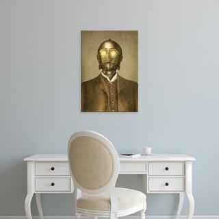 Easy Art Prints Terry Fan's 'Baron Von 3Po' Premium Canvas Art