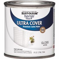 RustOleum White Latex Paint