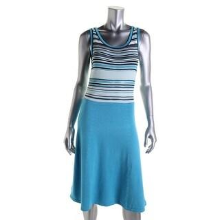 Jones New York Womens Casual Dress Knit Sleeveless