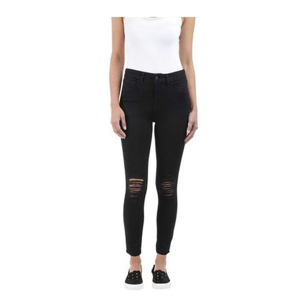 452279a9fc Shop L AGENCE Women s Margot High Rise Skinny Jean in Black Wash ...