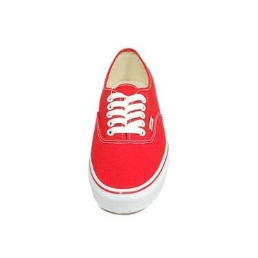 Vans Boys' Authentic - Red - 12.5