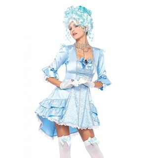 Versailles Beauty 2 Piece Adult Costume Large,Medium,Small