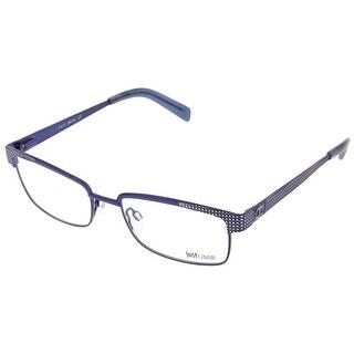 Just Cavalli JC0548/V 092 Blue Grey Rectangle Optical Frames - 54-18-145