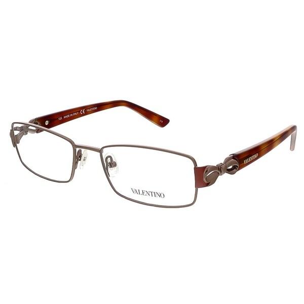 Valentino V2107 210 Brown/Havana Rectangular Valentino Eyewear - 51-17-125