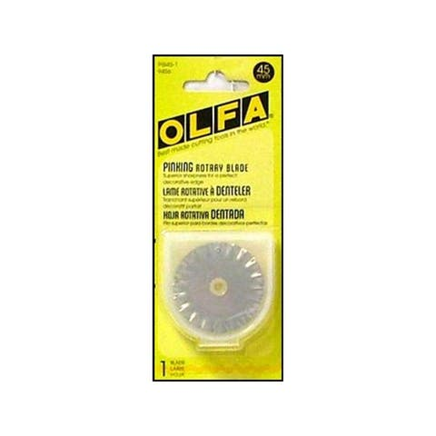 9456 olfa 45mm rotary blade stainless steel pinking