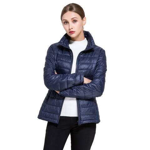 Bel-Air Women's Goose Down Lightweight Puffer Jacket - Extended Sizes