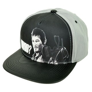 Walking Dead What Would Daryl Do Snapback Hat