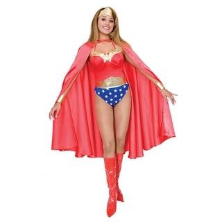 Adult Deluxe Red Superhero Cape