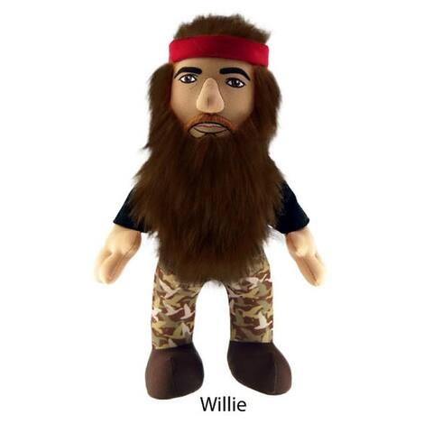 "Duck Dynasty 13"" Plush With Sound Willie - multi"