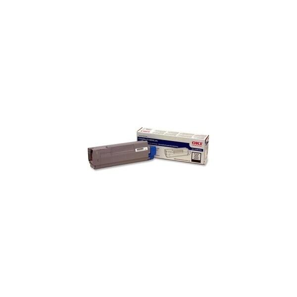 OKI 43381904 Oki Black Toner Cartridge - Black - LED - 2000 Page - 1 Each