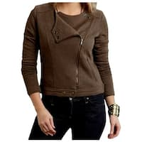 Stetson Western Jacket Womens Novelty Cotton Brown