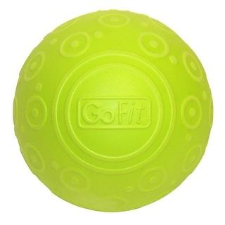 """GoFit 5"""" Deep Tissue Massage Ball - Green"""