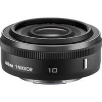 Nikon 1 NIKKOR 10mm f/2.8 Lens (Black) (International Model)