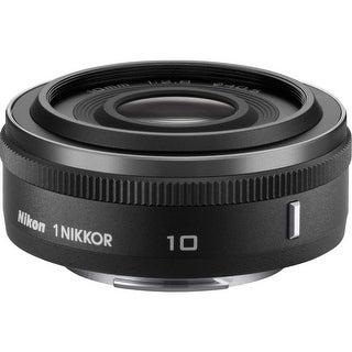 Nikon 1 NIKKOR 10mm f/2.8 Lens (Black) (International Model)