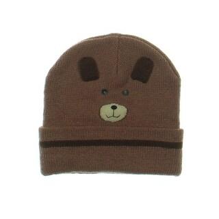 Kidorable Acrylic Bear-Face Design Winter Hat - o/s