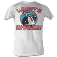 American Classics Popeye Wimpys Burgers T Shirt