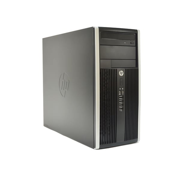 HP Compaq 6300-T Core i5-3470 3.2GHz 8GB RAM 500GB HDD DVD-RW Windows 10 Pro PC (Refurbished)