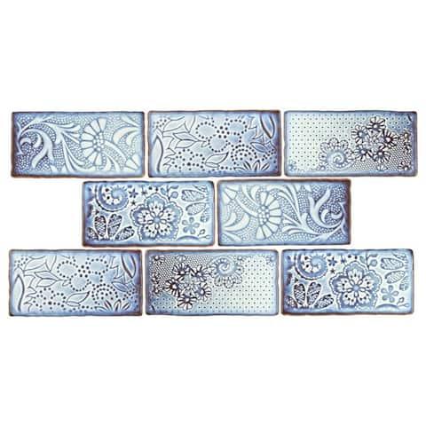 SomerTile 3x6-inch Antiguo Feelings Via Lactea Ceramic Wall Tile